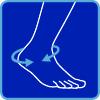 circonferenza collo piede